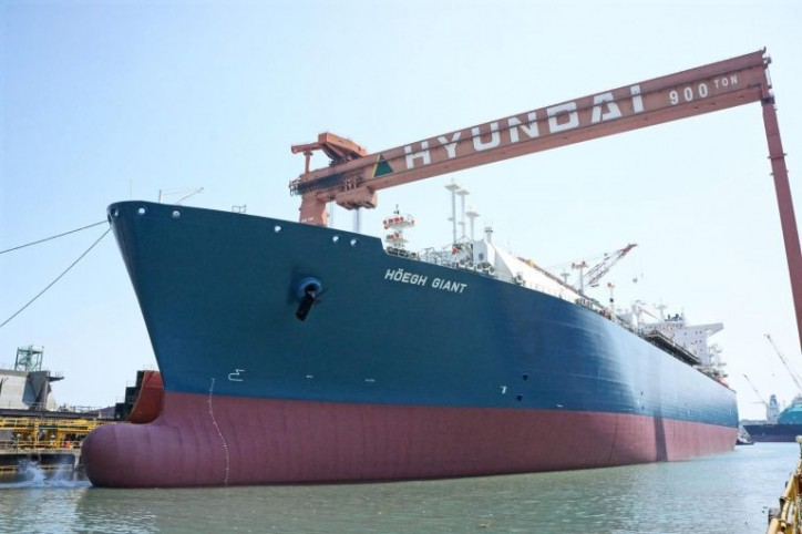 Höegh LNG takes delivery of seventh FSRU