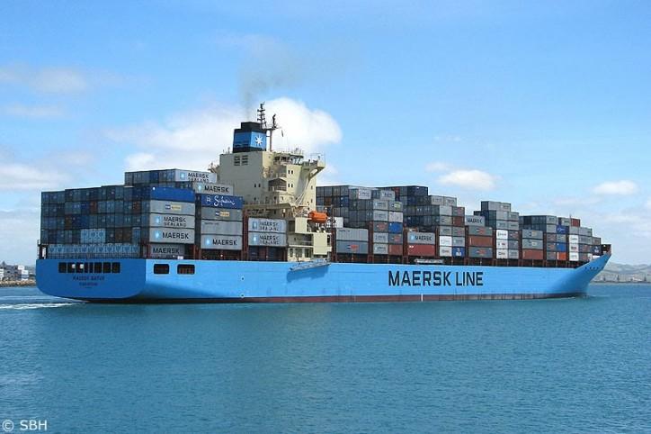 Maersk Batur IMO number 9402029