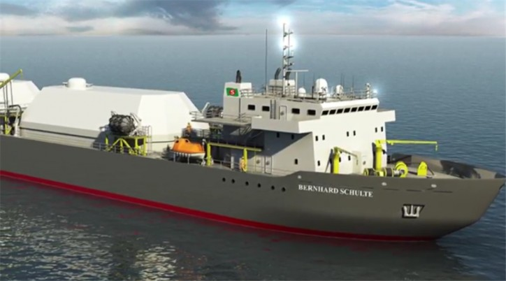 BSM and Babcock International Group collaborate on innovative LNG Supply Vessel
