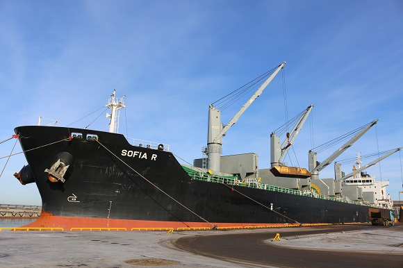 For The First Time BLRT Group Loaded A Bulk Carrier With a Deadweight Of 36,000 tons