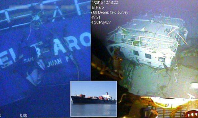 NTSB to Launch Second Search Mission to EL FARO