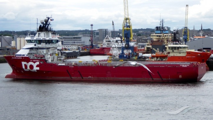 DOF awarded a contract by Ithaca for the vessel Skandi Barra