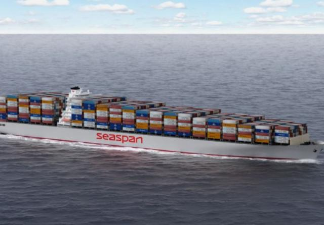 Seaspan takes delivery of 14,000-TEU YM Witness
