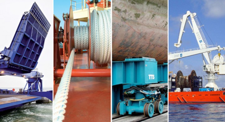 TTS Group ASA secures new contracts for access equipment and cranes for two reefer vessels