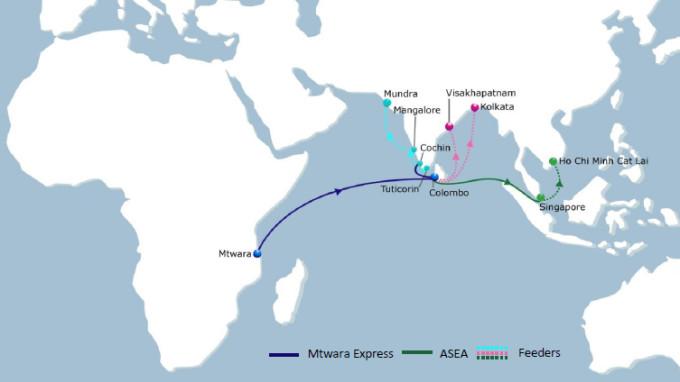 CMA CGM Mtwara Express Service