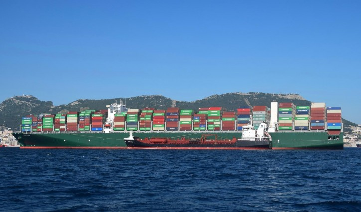 Gibraltar Port welcomes its largest ship