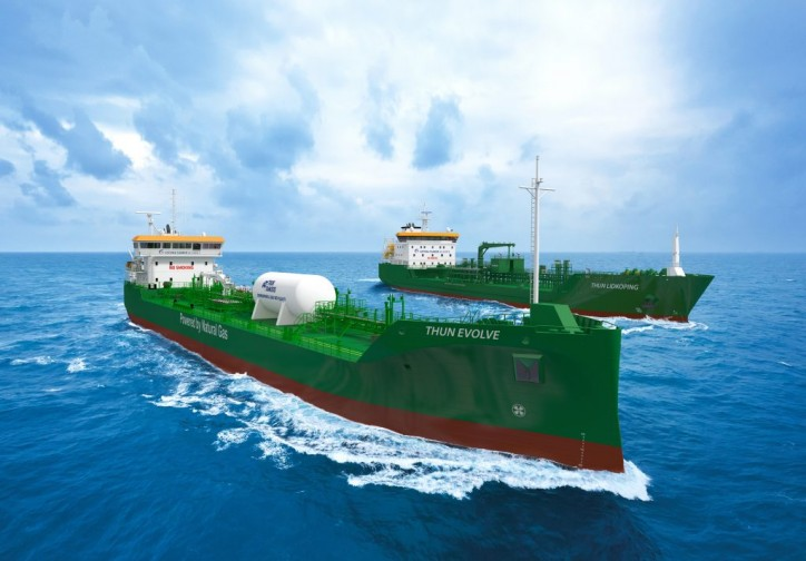 Thun Tankers takes delivery of first L-Class and second E-Class product tankers; Both vessels to enter the Gothia Tanker Alliance network