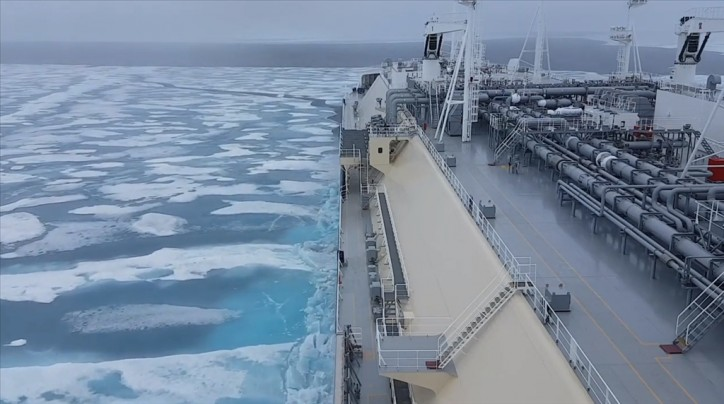 Watch: Eduard Toll transiting the Northern Sea Route