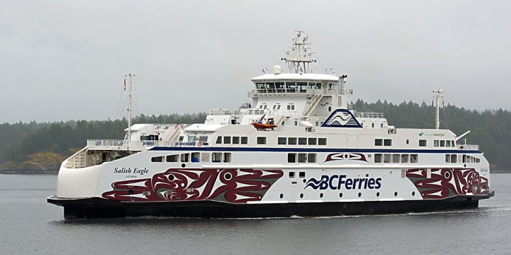 BC Ferries' Salish Eagle officially begins service on June 21