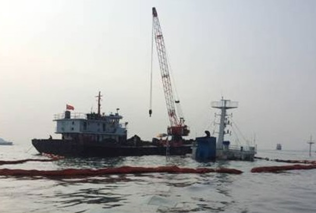 Two Chinese-Flagged Boxships Collide in Taiwan Strait