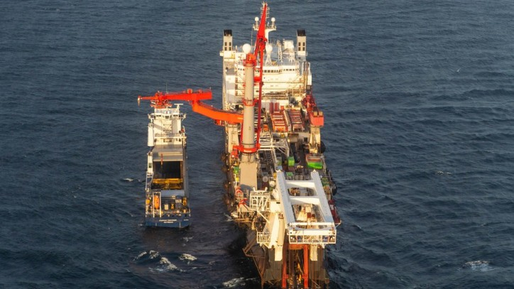 Solitaire Starts Laying the Nord Stream 2 Pipeline in Russian Waters