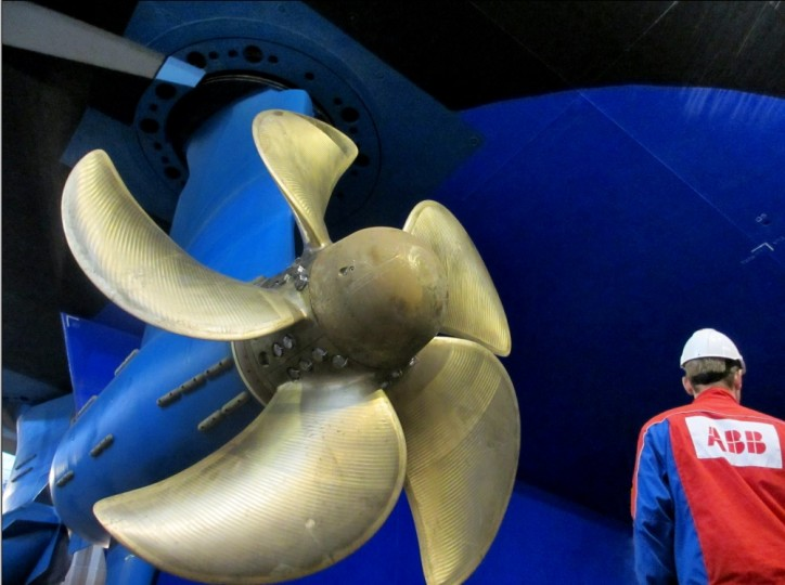 """ABB's Azipod D electric propulsion system wins """"Innovation of the Year"""""""