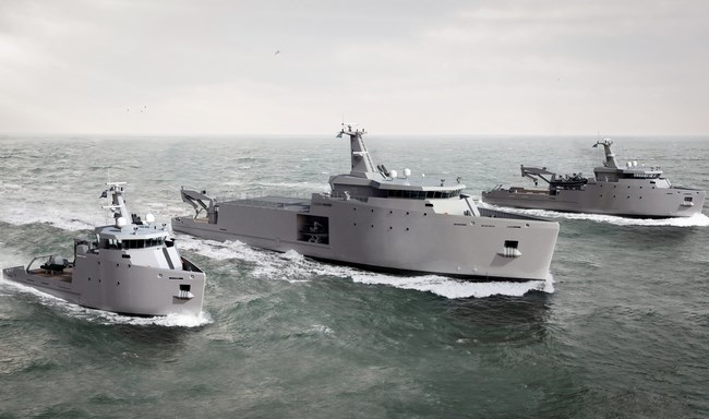 DAMEN Announces New Range Of Naval Multi-Role Auxiliary Vessels