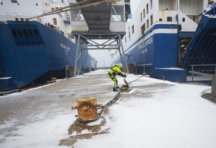 Another excellent year with stable freight volumes for Ports of Stockholm