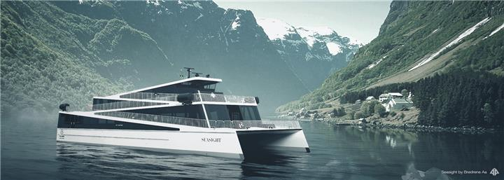 ABB to Power Futuristic Hybrid Ferry on Norwegian Fjords