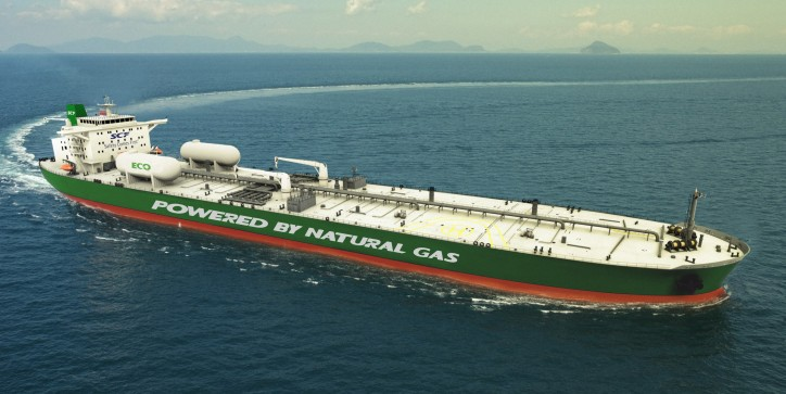 SCF Group and Shell pioneer adoption of cleaner-burning LNG as a primary fuel for Aframax tankers