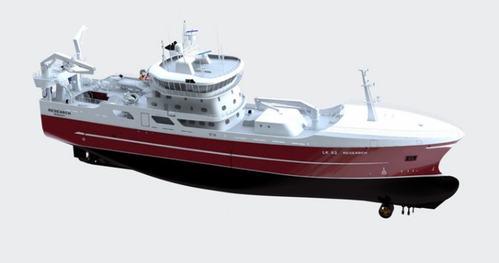 VARD Secures Contract For The Construction Of One Pelagic Trawler For Research Fishing Company