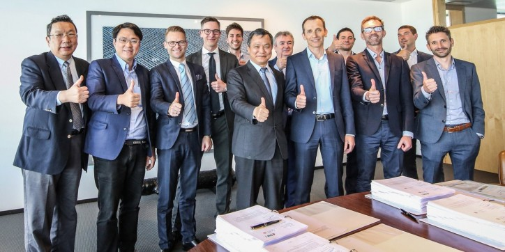 Another big achievement for Jan De Nul in Asia - Jan De Nul Group signs Formosa 1 Phase 2 Offshore Wind Contract