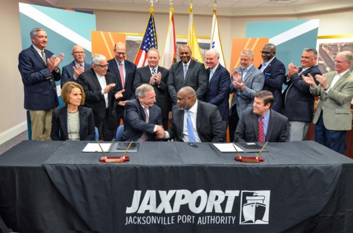 JAXPORT and SSA Marine Reach Long-term Agreement on $238.7Mln International Container Terminal at Blount Island
