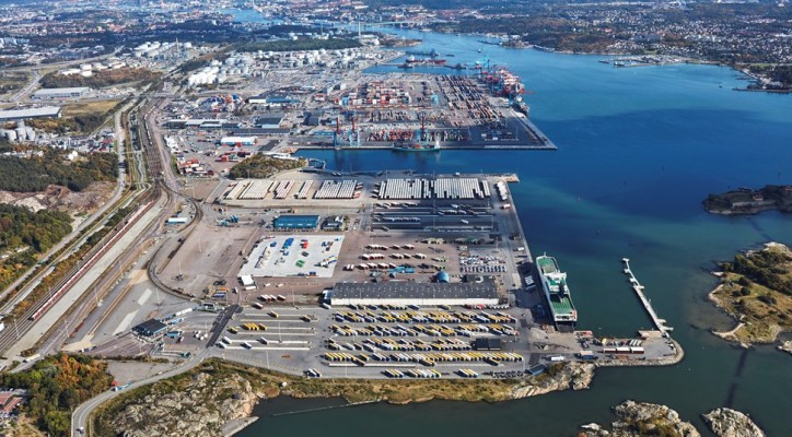 Increased Cargo Volumes Between Gothenburg And Belgium Expands SOL Service