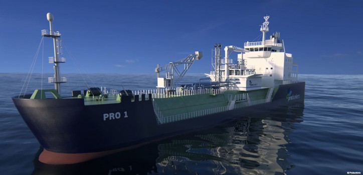 ABS & Probunkers Sign JDP for Fleet of LNG Bunkers
