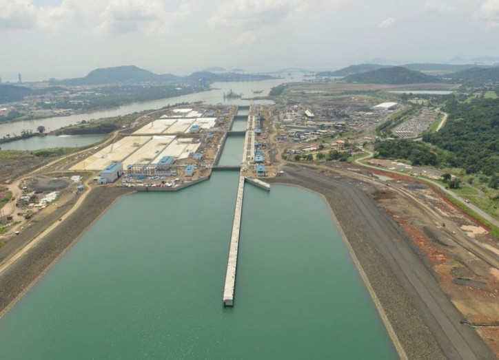 New Panama Canal countdown begins; 95% of works completed
