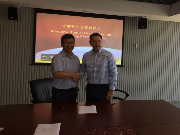 ALE sign MOU with Chinese shipping company