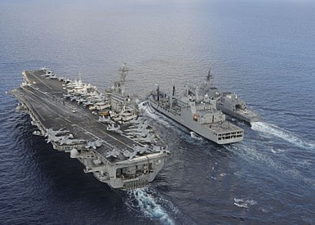 US, Japan and India Kick off 2016 Malabar Exercise