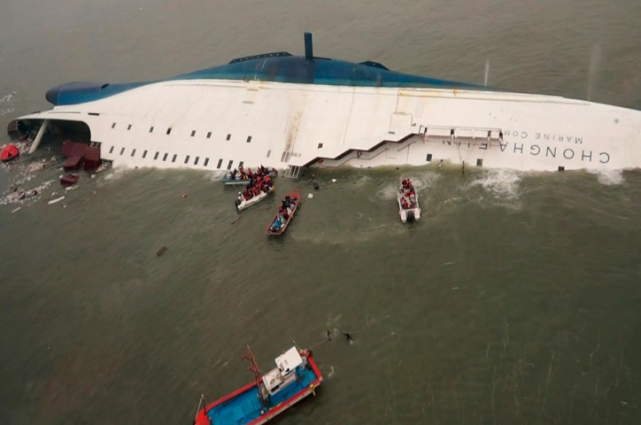 South Korea to lift sunken ferry Sewol by July