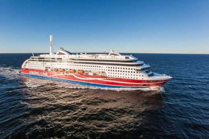 Norsepower Rotor Sail Solution To Be Installed Onboard Viking Line Cruise Ferry Vessel
