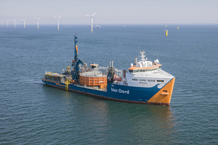 Ørsted contracts Van Oord for cable installation at Greater Changhua offshore wind farms