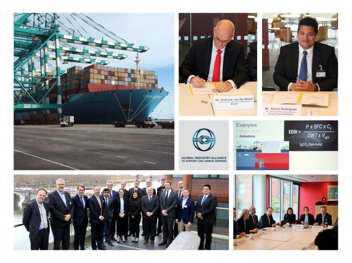 Maersk and Panama Canal Authority joins the Global Industry Alliance (GIA) to support low carbon shipping