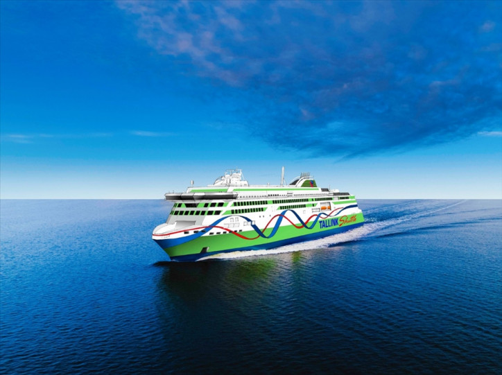 Tallink Grupp signs loan agreement for new LNG powered fast ferry