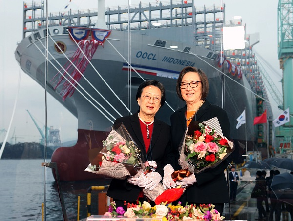 OOCL Indonesia christening ceremony