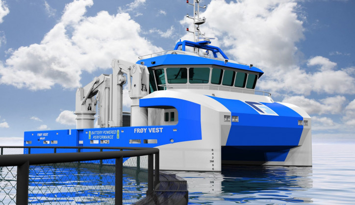 Ulstein Delivers Automation system for hybrid work-boat