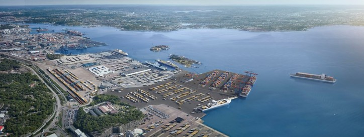Port of Gothenburg starts construction of new terminal