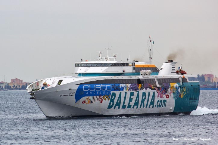 Balearia Places Order For Two Gas-Powered Ferry Units
