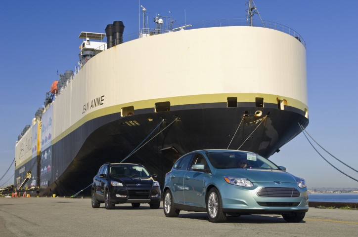 Port of San Francisco Welcomes Pasha Automotive Services to Pier 80 MV Jean Anne Makes Inaugural Ship Call