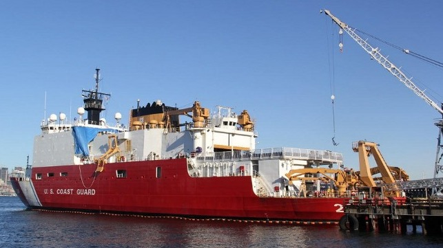 Vigor Awarded Contract for Maintenance of Coast Guard Cutter Healy