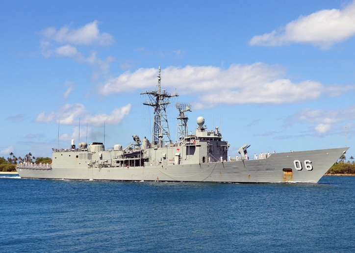HMAS Newcastle frigate