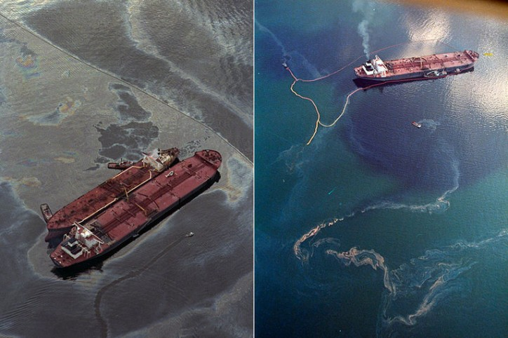 Curious to Know and See: The Exxon Valdez Oil Spill - 25 Years Ago Today