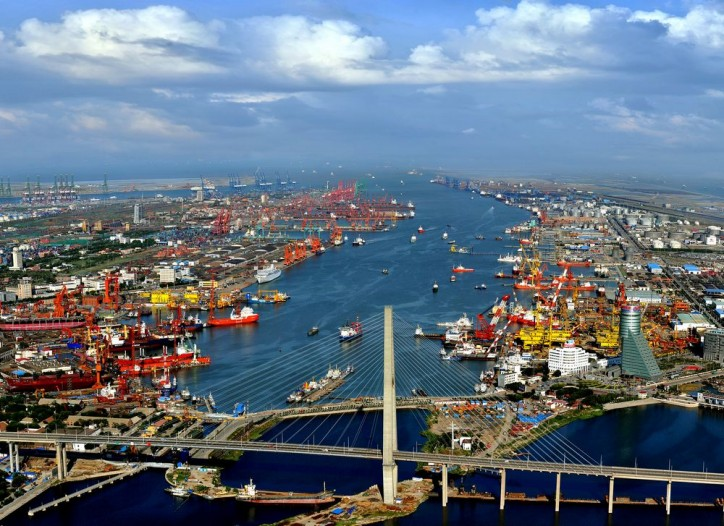 China's Tianjin Port Opens New Mediterranean Route