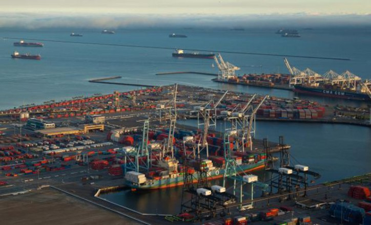 Port of Long Beach сontainer volume down 7.7 percent in July 2016