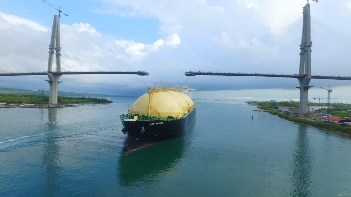 Panama Canal Consolidates its Strategic Position in the Transportation of Liquefied Natural Gas