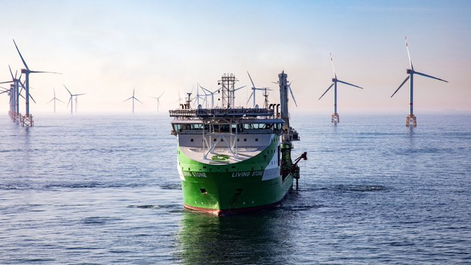 DEME completes Elia's Modular Offshore Grid subsea export cable installation well ahead of schedule