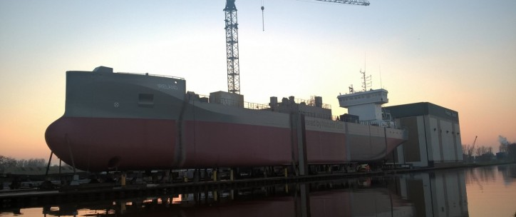 Ferus Smit to launch cement carrier M.V. Ireland