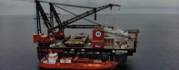 Maiden Trip for World's Most Sustainable Crane Vessel Sleipnir