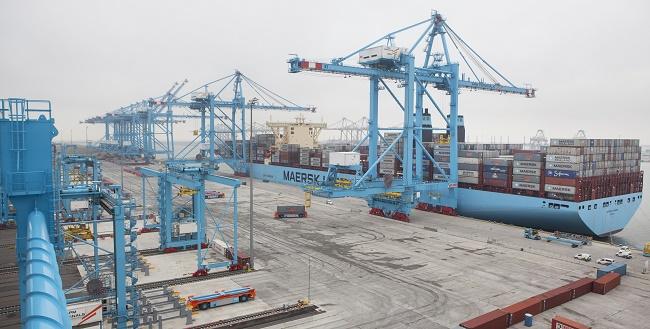 APM Terminals facility Maasvlakte II has