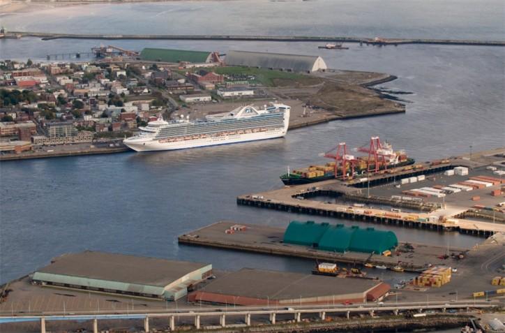 DP World Saint John Canada begins operations