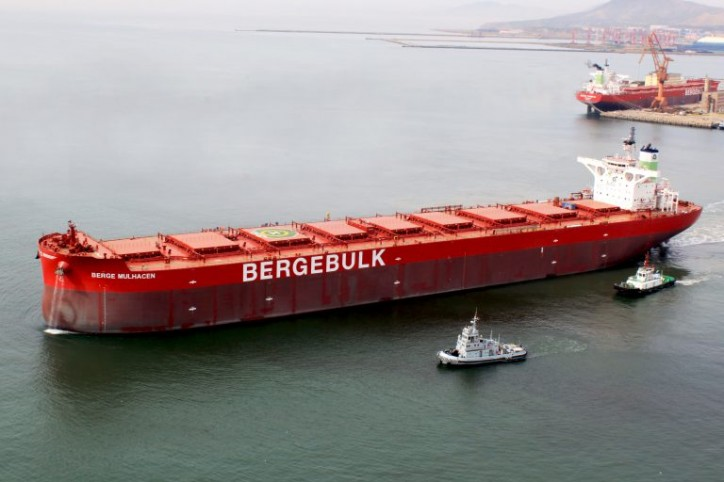 Berge Bulk welcomes Berge Mulhacen to its fleet